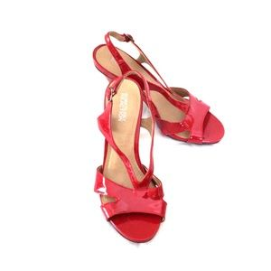 Kenneth Cole Reaction Red Heels
